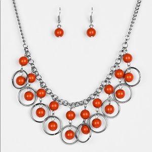 Orange Crush Necklace Set